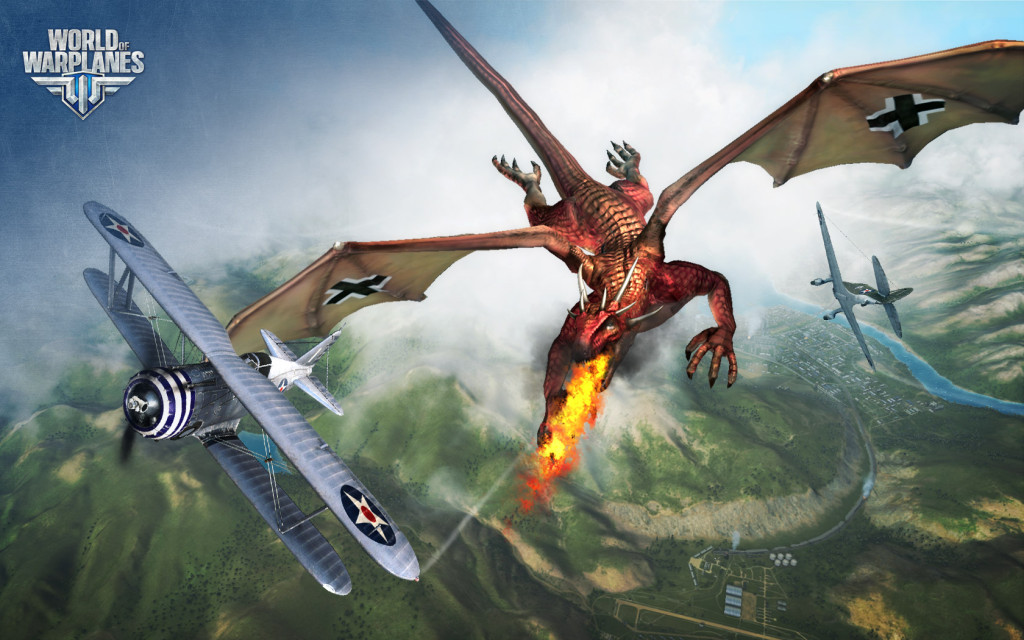World Of Warplanes драконы